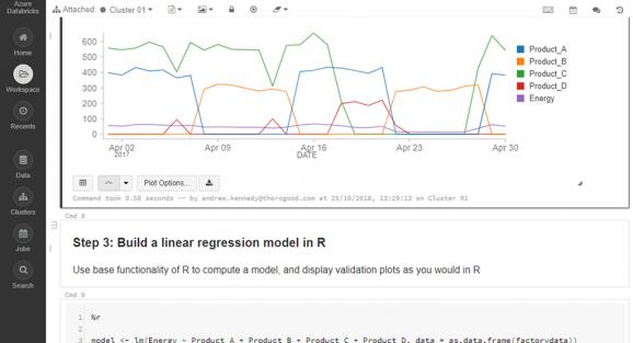 Databricks for Advanced Analytics - Thorogood
