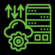 Cloud migration icon